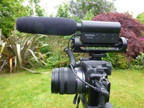 Review of budget external mics for amateur videorecording