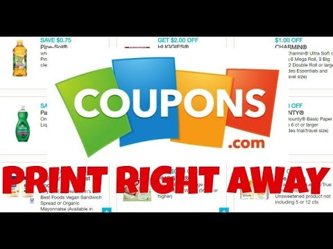 Awesome New August Coupons to Print on Coupons.com