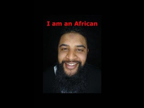 I am an African - #AfricaDay