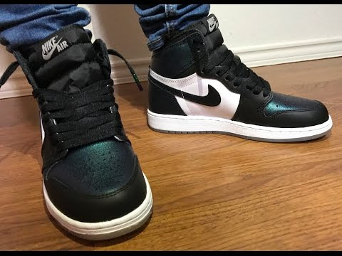 Wife's Jordan Retro 1 ASG unboxing on feet review Very dope colorway!