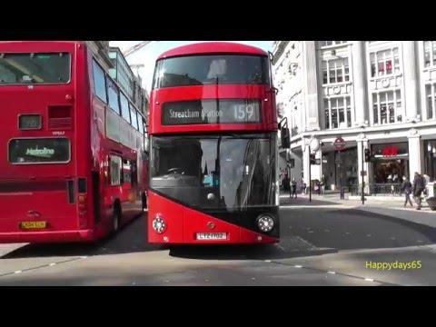 Buses In Oxford Street London