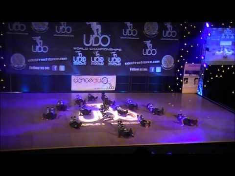 IMD dance crews final performance at the UDO World Championships in Blackpool 2012
