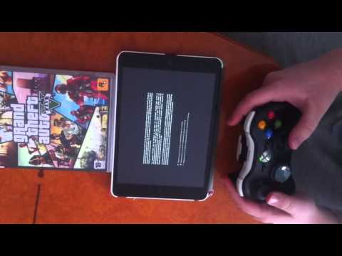 How to play gta5 on iPad with xbox 360 control