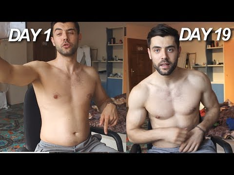 Week 3 Body Shape Update - 30 Days Extreme Fat Loss Challenge Day#1 - #19   Vlog