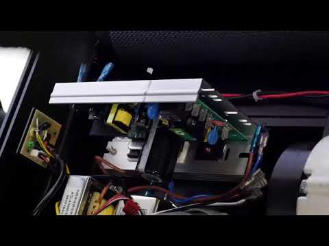 How to change the control card on a T990A treadmill ?