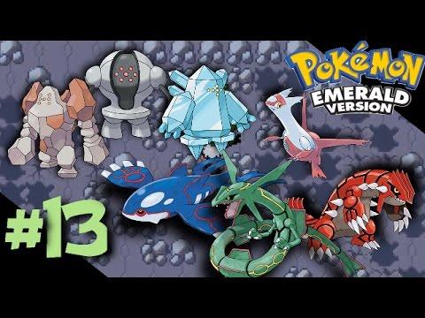 Pokemon Emerald: Episode 13 - Catching the Legendaries (Regis, Weather Trio, Latias)