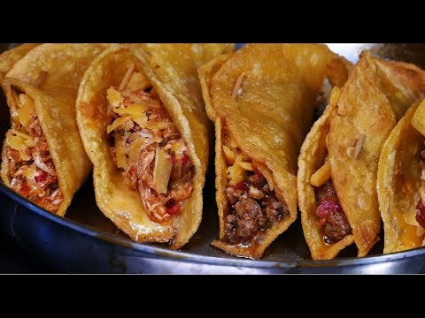 How to Make Easy Chicken or Beef Tacos