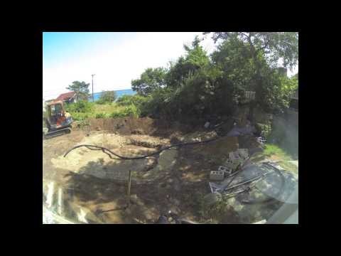 Koi pond dig - Day 2