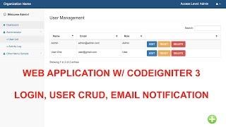 Tutorial CRUD less than 3 min - myIgniter Framework - PakVim