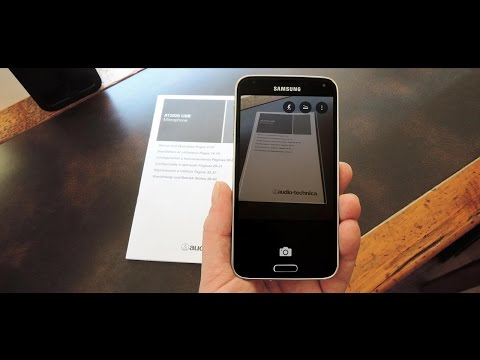How to scan a documents and convert it into PDF format using Android phone.