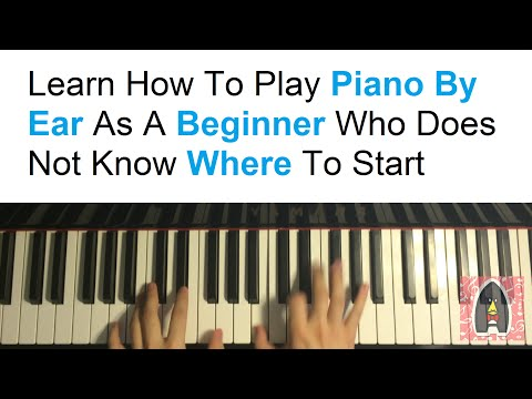 Learn How To Play Piano By Ear As A Beginner Who Doesn't Know Where To Start (NEW COURSE!)