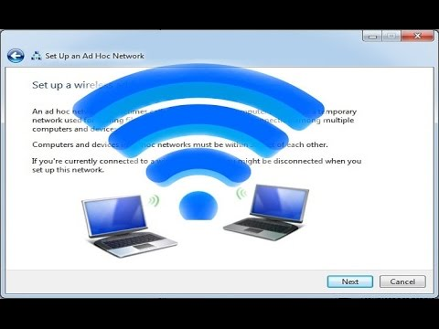 How to Connect two or more Computers by Wireless Connection & Share Files between them