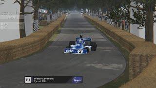 Virtual Goodwood Festival of Speed Hillclimb F1 Cars PART #2