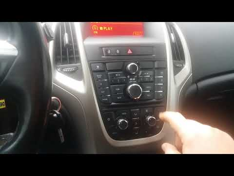 How to enable bluetooth on astra j insignia meriva cd 400