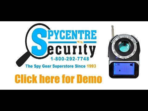 Camera Finder & Wireless Bug Detector - Review