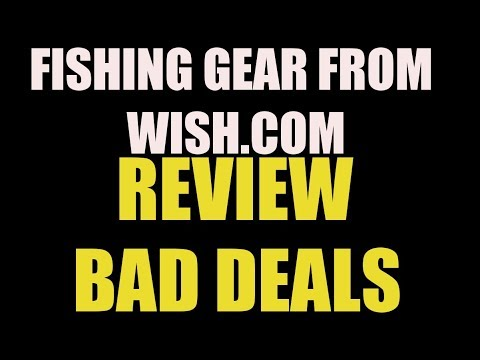 Wish.com Fishing Gear Review Tackle and Spinning Reel DK 3000