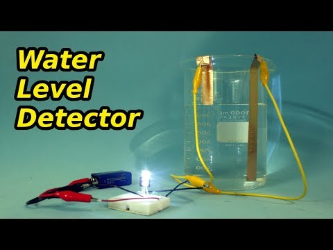 Easy to Make Water Level Detector Circuit