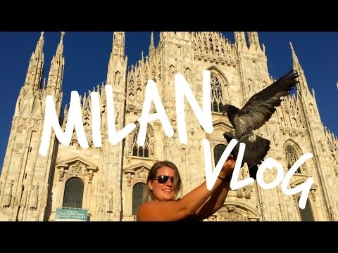 Milan Vlog || city center, travel day