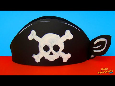 How to make a Paper Pirate Hat?