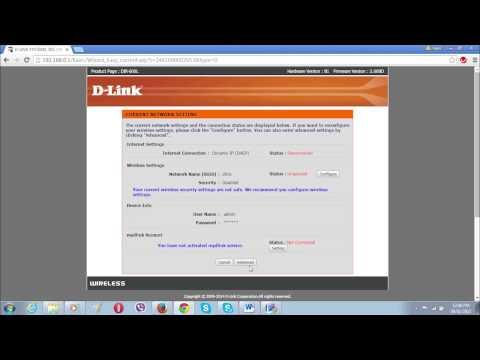 How to setup DLink DIR 600L