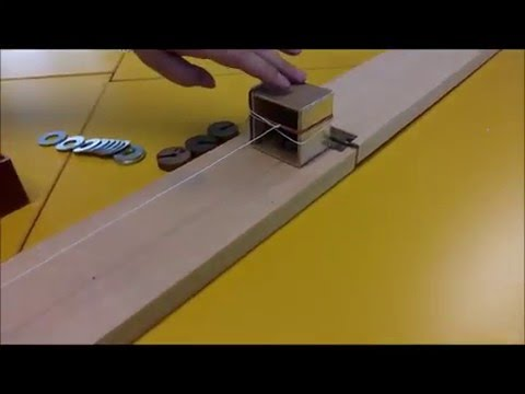 friction experiment on surface material