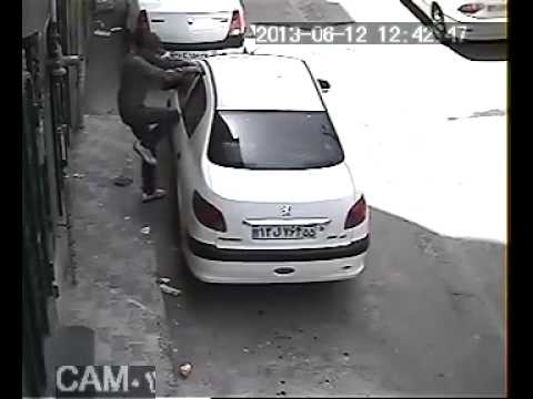 Shocking video- Why car & car stereo theft so easy