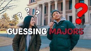 Guessing Student Majors at Harvard University