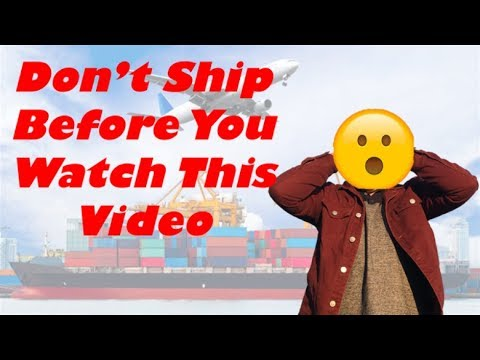 Which Is Better Air Shipping Vs Sea Shipping Amazon FBA, Shipping Terms And More....