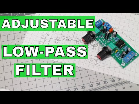 Adjustable Low-Pass Filter (Sallen-Key Filter) |From ICStation.com