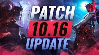 NEW UPDATE: BEST Champions TIER List – League of Legends Patch 10.16