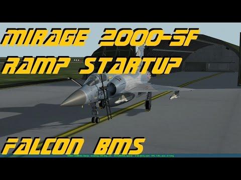 Falcon BMS v4.33 - Mirage 2000-5F Ramp Startup