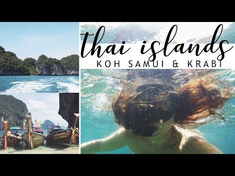 THE ISLANDS #1 // Beaching in Koh Samui & Boat Trips in Krabi, Thailand
