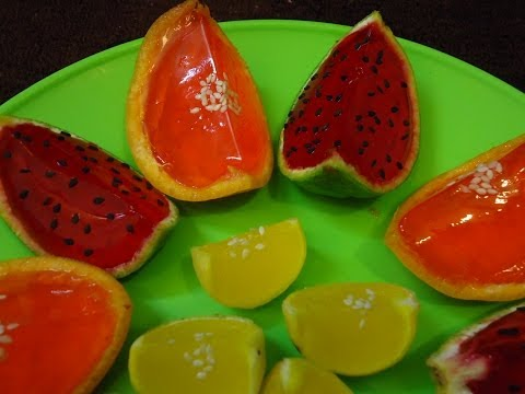 Jello, Jello Watermelon, Lemon & Oranges, Jello Shot, Agar Agar