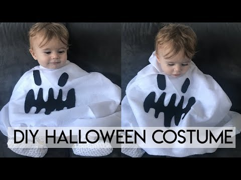 DIY Halloween Costume for Kids -  No Sewing!