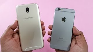 Samsung J7 Pro vs iPhone 6 Speed Test Comparison | Real Test!