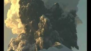 Mt Ruapehu eruptions  spectacular raw footage