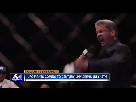 The UFC coming to CenturyLink Arena in Boise