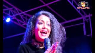 Neha Kakkar Live  - Jeena Jeena Song Badlapur    Parul University