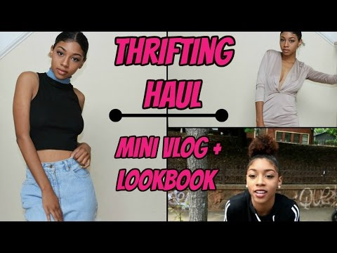Summer Thrifting Haul + Try-on (Come With Me!)