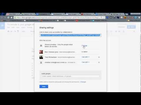 How to Make Google Docs Visible in Google Sites in Google Apps 2014