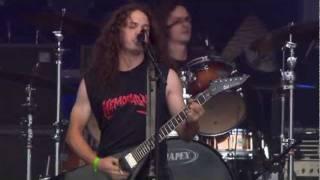 HEMORAGY - A Strange Man From Hell, live @ Hellfest Festival 2011