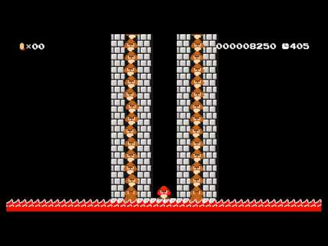Super Mario Maker level: