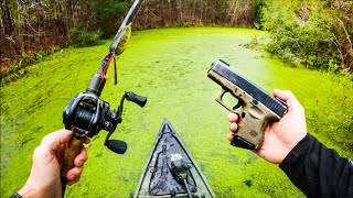 Fishing DANGEROUS Canals (SHOTS FIRED!!)