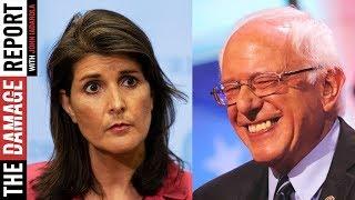 Nikki Haley's Anti-Bernie Tweet Backfires