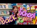 Eee начинается BACK TO SCHOOL 2019 в Америке!!! Много прикольных новинок! канцелярия для школы