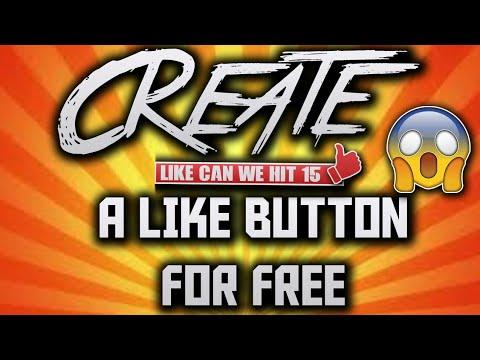 How to make a CUSTOM Like button!😂😁