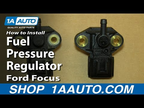 How To Install Replace Fuel Pressure Regulator 2005-09 2.3L Ford Focus