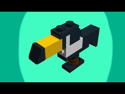 Teeny Tiny LEGO Animals: How to Build a Toucan