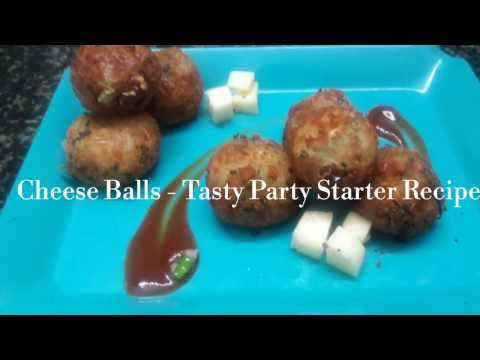 Cheese balls Recipe/ How to make Cheese Corn Balls - Restaurant style Appetisers for Parties