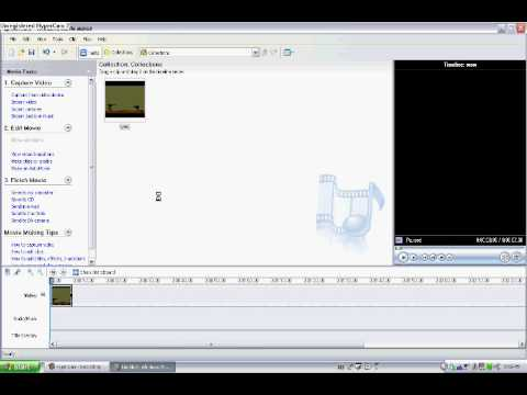How to fast forward your videos with windows movie maker